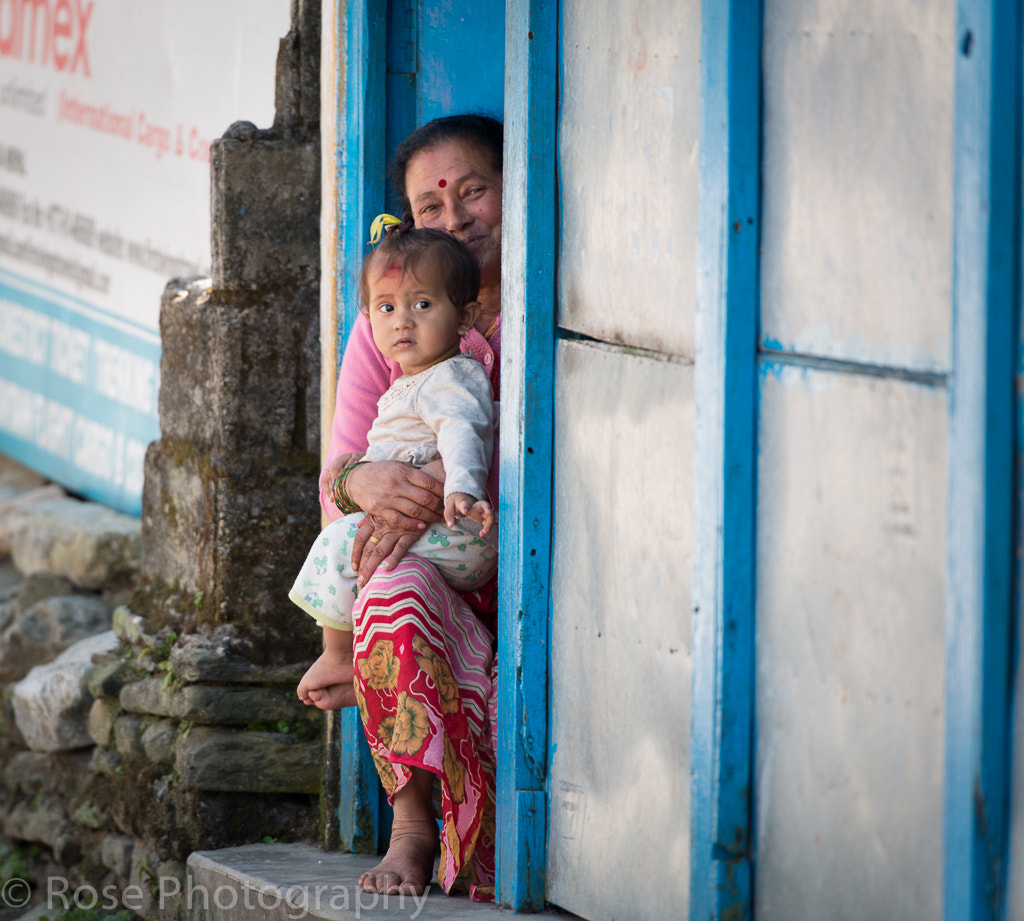 Photograph Grand Mom and Grand Gril. by Long Kho on 500px