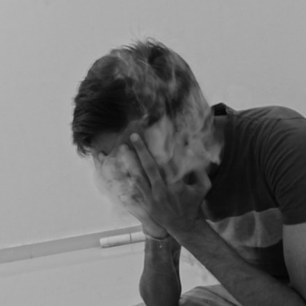 Sadness smoke , Sony DSC-WX60
