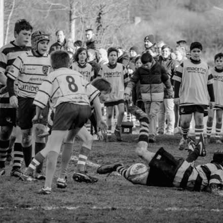 Rugby Under 14, Nikon D7000, Sigma APO 100-300mm F4 EX IF HSM