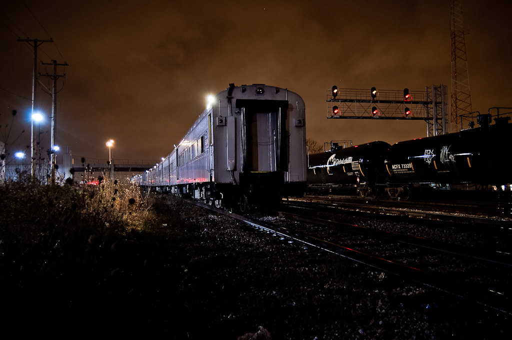 Photograph circus train by Sam D. on 500px