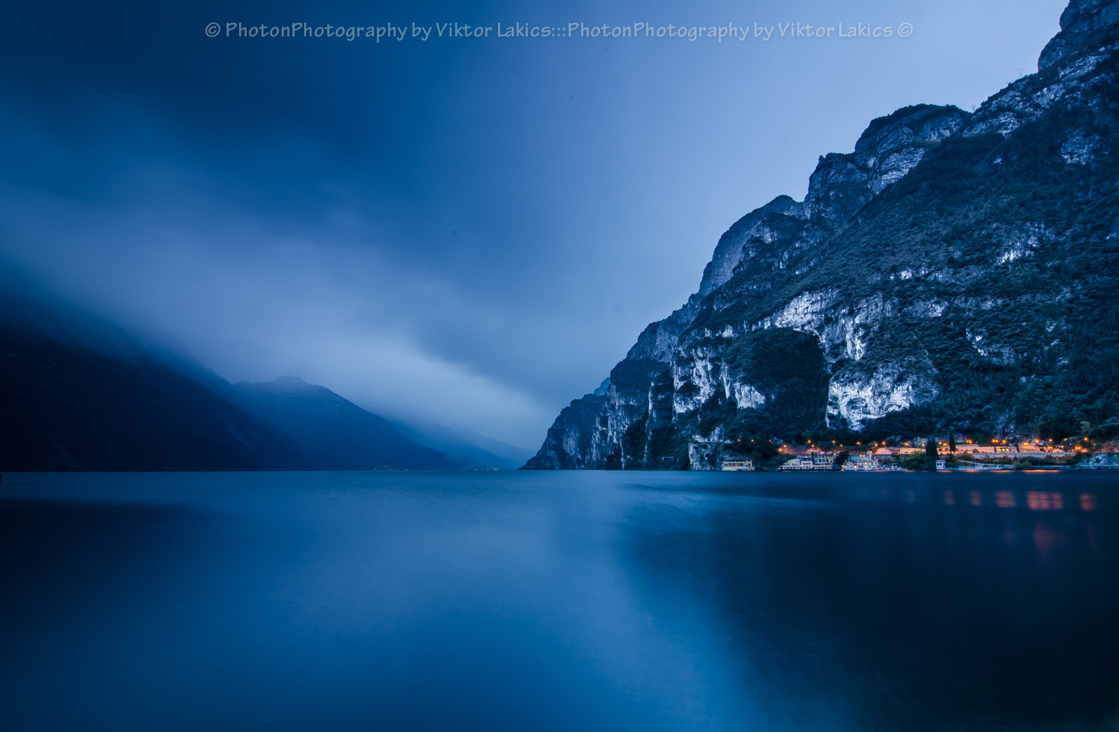 Photograph Blue Hour At Lake Garda by PhotonPhotography -Viktor Lakics on 500px