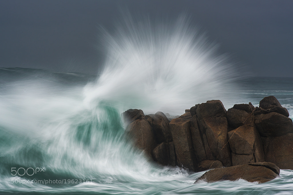 Photograph Pacific Grove, CA Big Waves by Tom Post on 500px