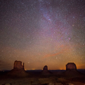 Monument Valley, Milky Way