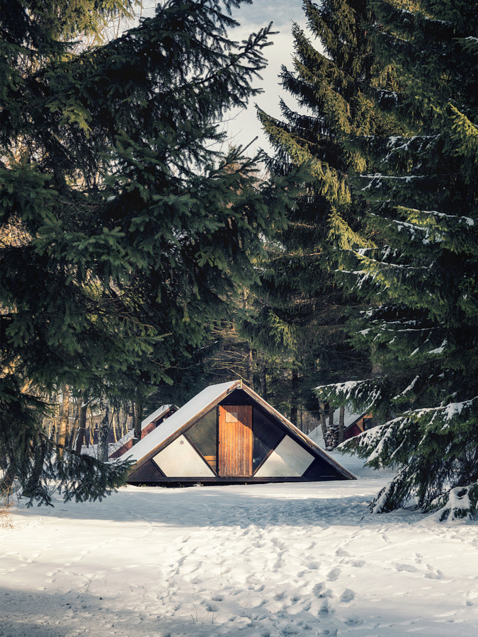 cosy cabin by Kevin Teerlynck on 500px.com