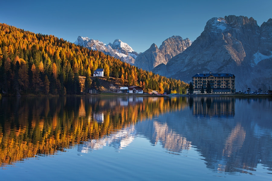 Photograph Lago di Misurina by Daniel Řeřicha on 500px