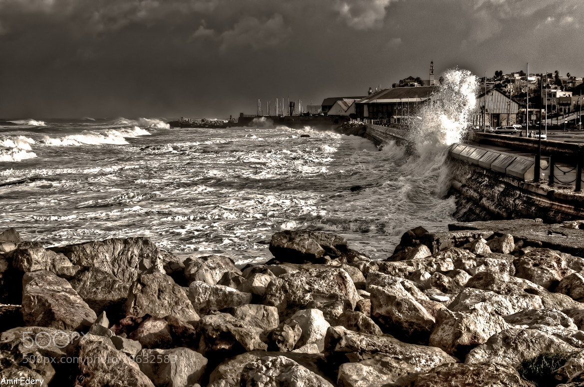 Photograph Storm and Sun comes togthere  by Amir Edery on 500px