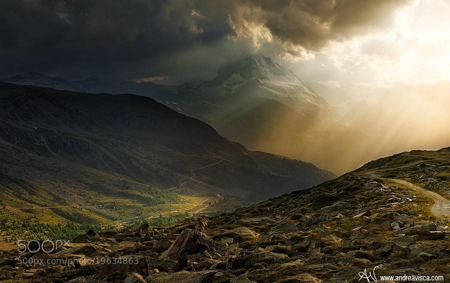 Photograph Rain and sun by Andrea Visca on 500px