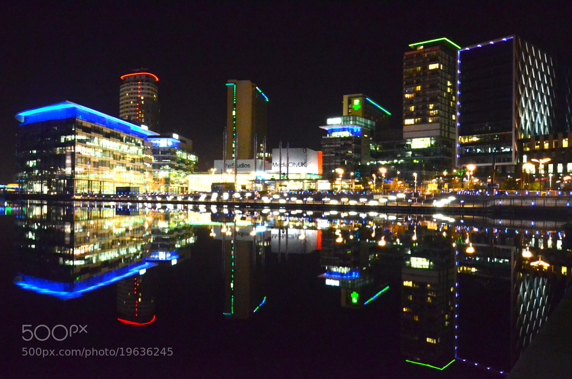 Photograph media city by tony martin on 500px