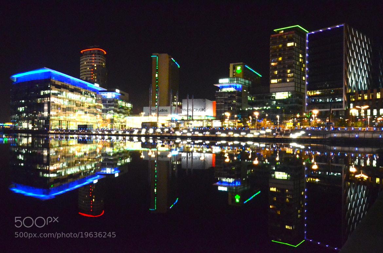 Photograph media city by tony martin on 500px