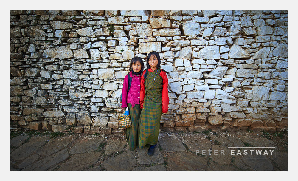 Photograph School Girls, Paro Dzong by Peter Eastway on 500px