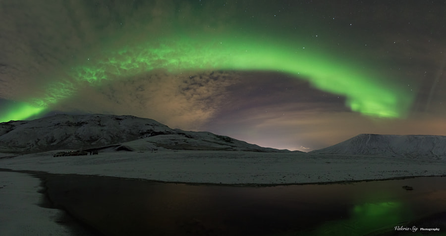 Bow of lights by Valeria Sig on 500px