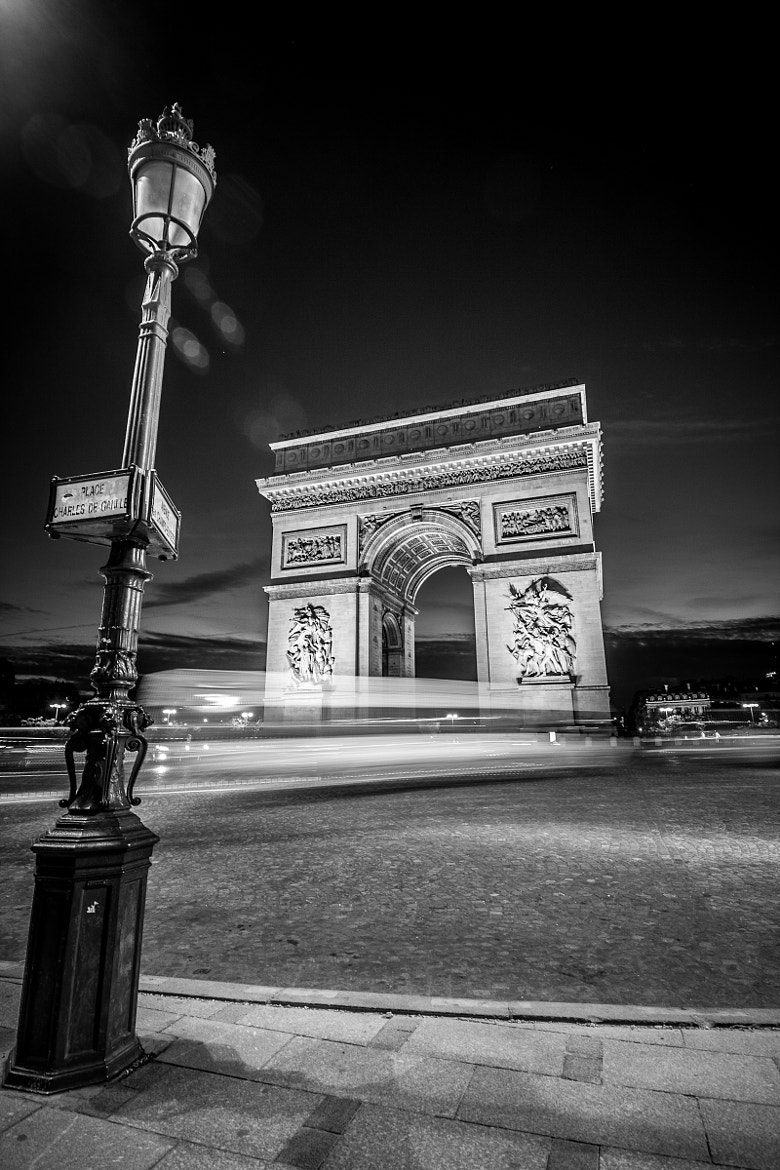 Photograph Passage through Arc deTriomphe by  Ying Fang on 500px