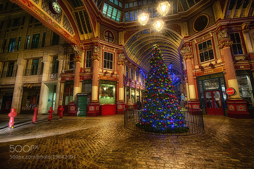 Photograph Christmas at Leadenhall Market, London by Jack Torcello on 500px