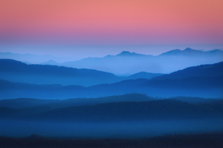 Photograph Misty Mountain Morning by Chris Moore on 500px