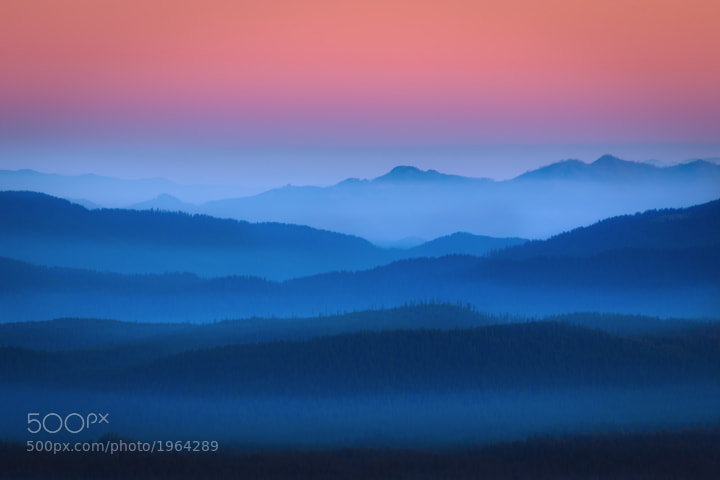 Photograph Misty Mountain Morning by Exploring Light Photography on 500px