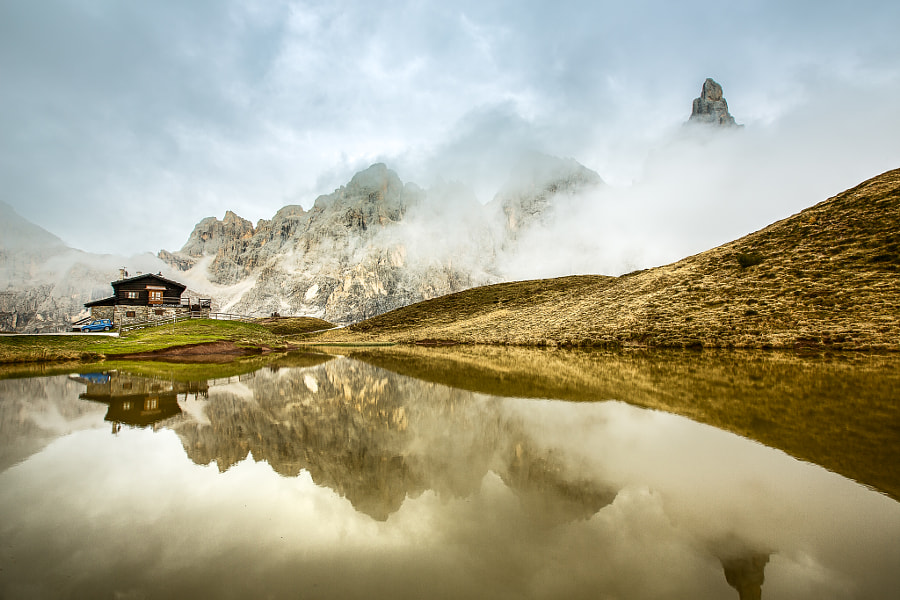 Reflections in the Dolomites, Italy