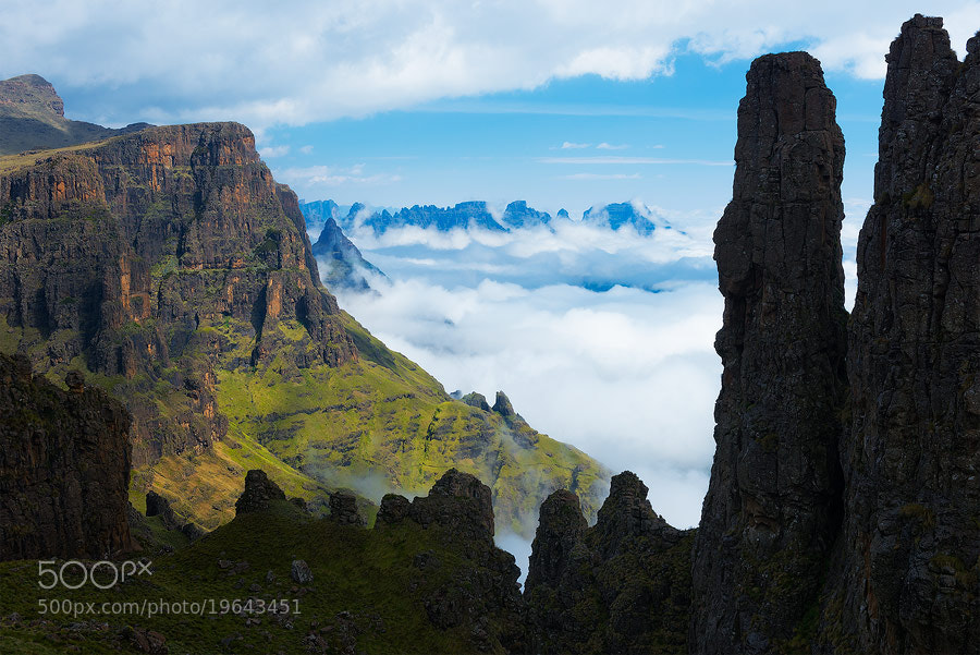 Photograph Castle in the Sky by Hougaard Malan on 500px