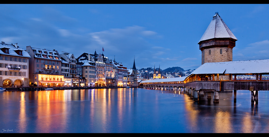 Photograph Luzern in Christmas Mood by Jan Geerk on 500px