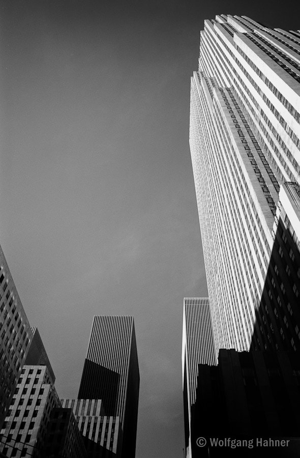 Photograph Rockefeller Plaza 1989 by Wolfgang Hahner on 500px