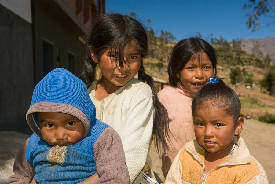 Photograph Children of Bolivia by Robert Sertic on 500px