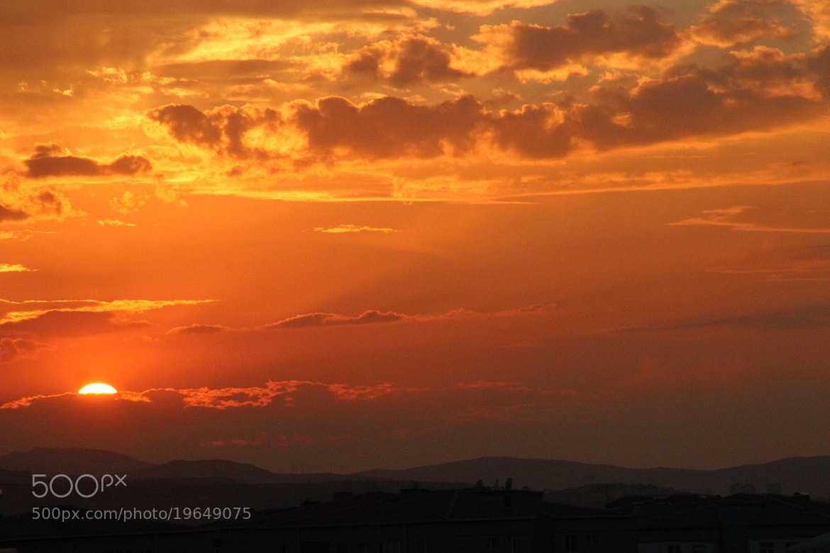 Photograph Sunset at Ankara- Turkiye by Mehpare Firat on 500px