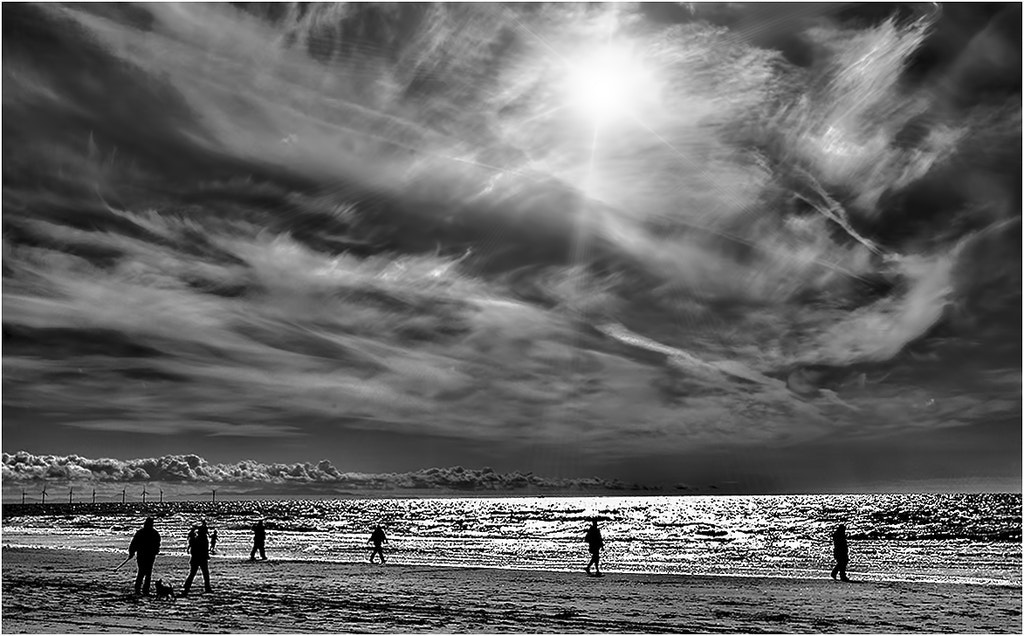 Photograph Sunday beach combing by Richard Tierney on 500px