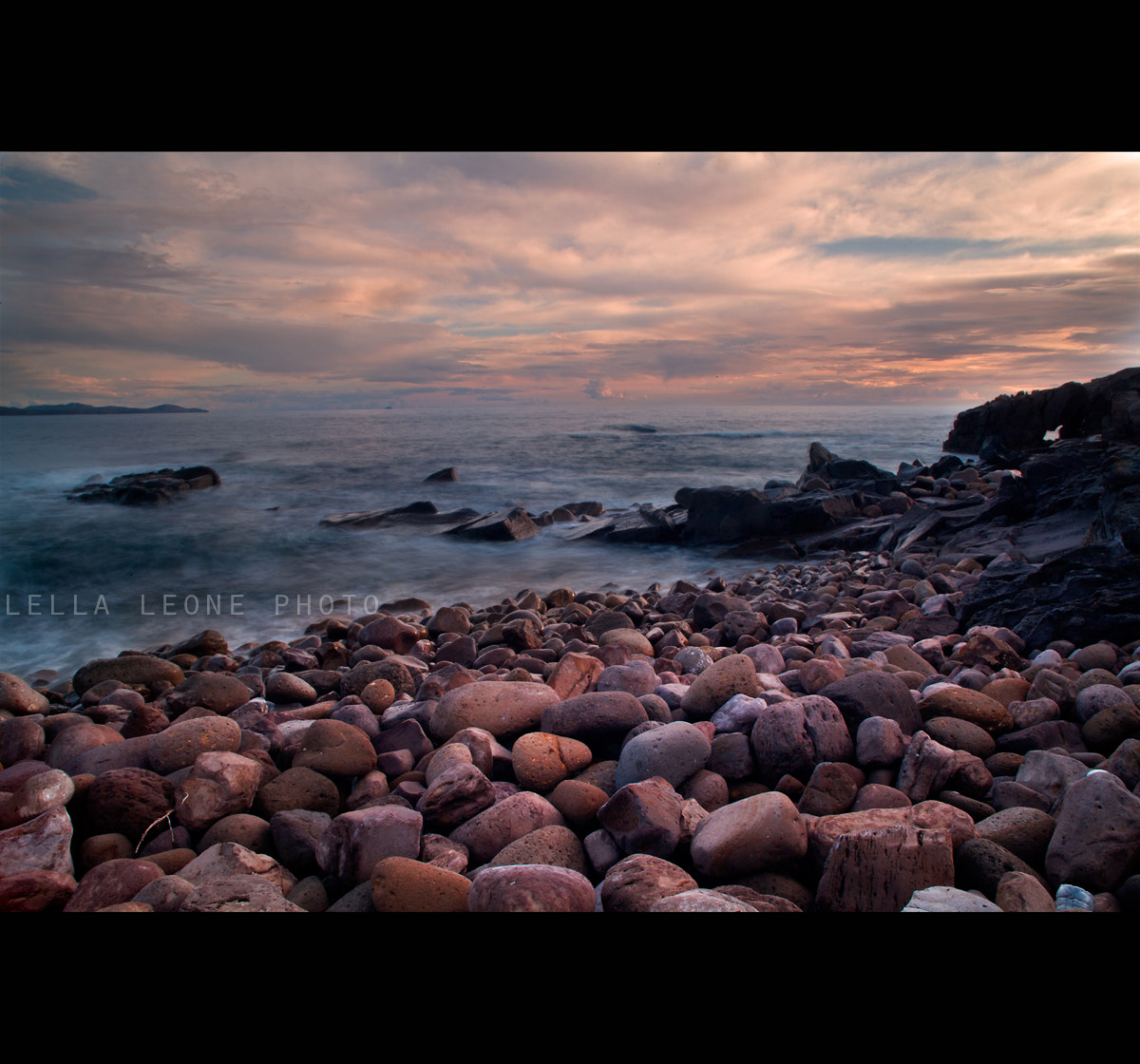 Photograph stones sunset by Mariantonella Leone on 500px