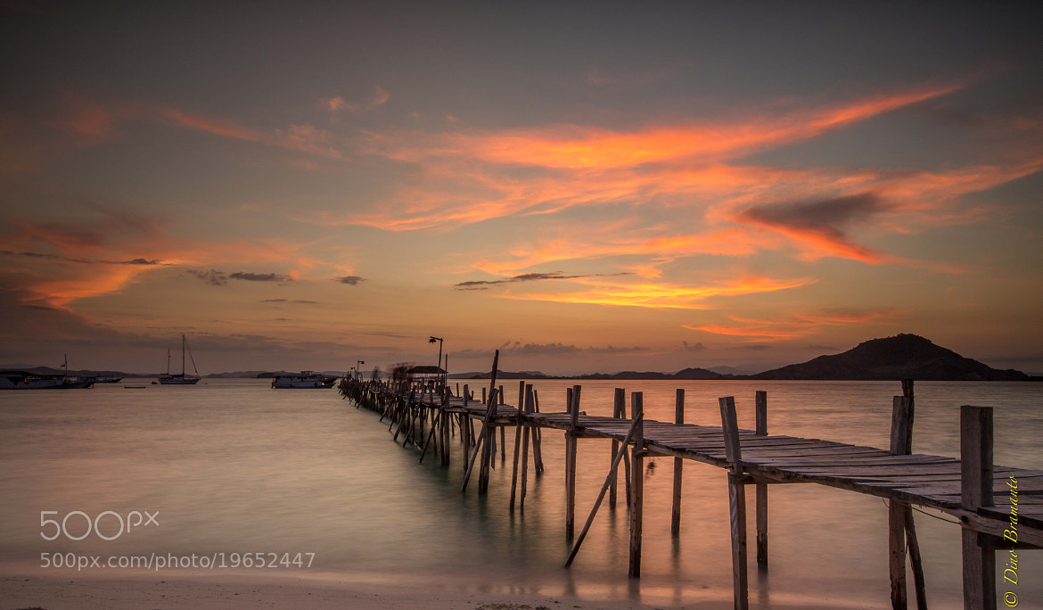 Photograph Sunset at Kenawa Island, Eastern Part of Indonesia by Dino Bramanto on 500px