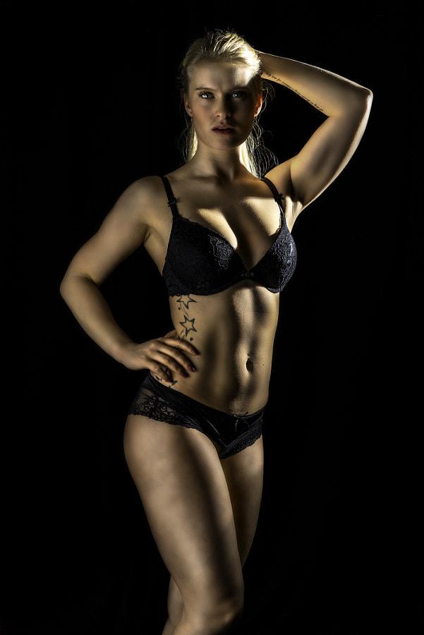 Beautiful fitness model
