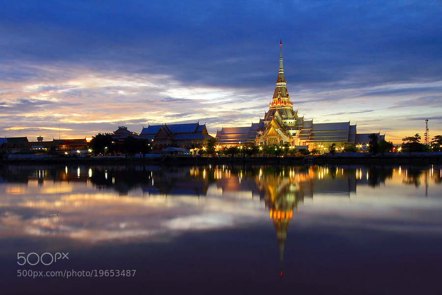 Photograph Sothorn Temple by Bank Charoensook on 500px