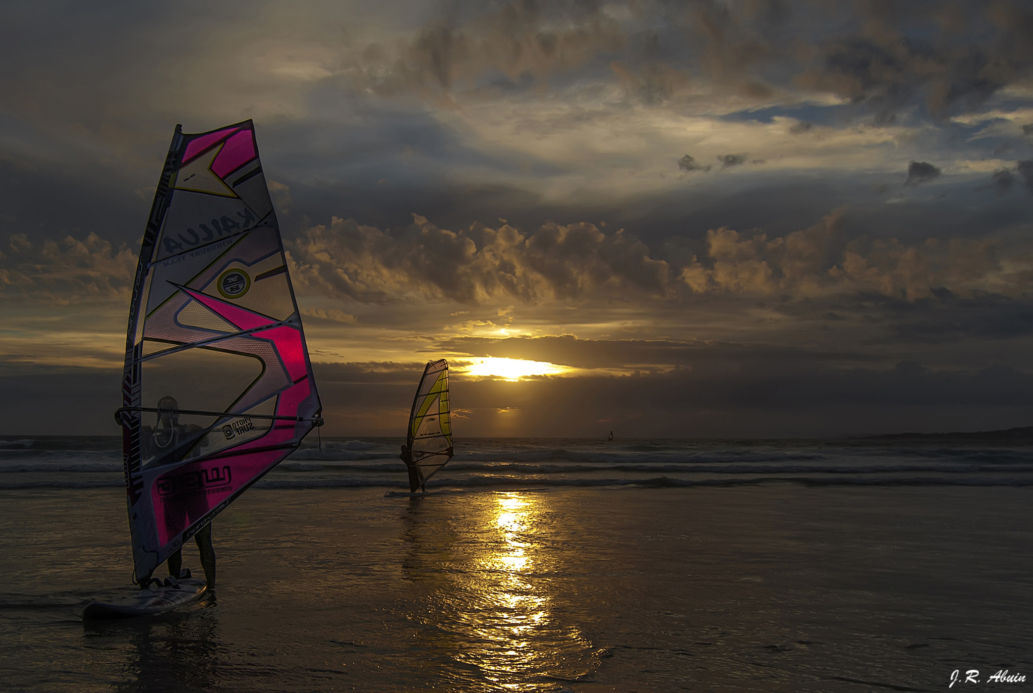 Photograph WindSurfing... by Jose R.  Abuin Hermida on 500px