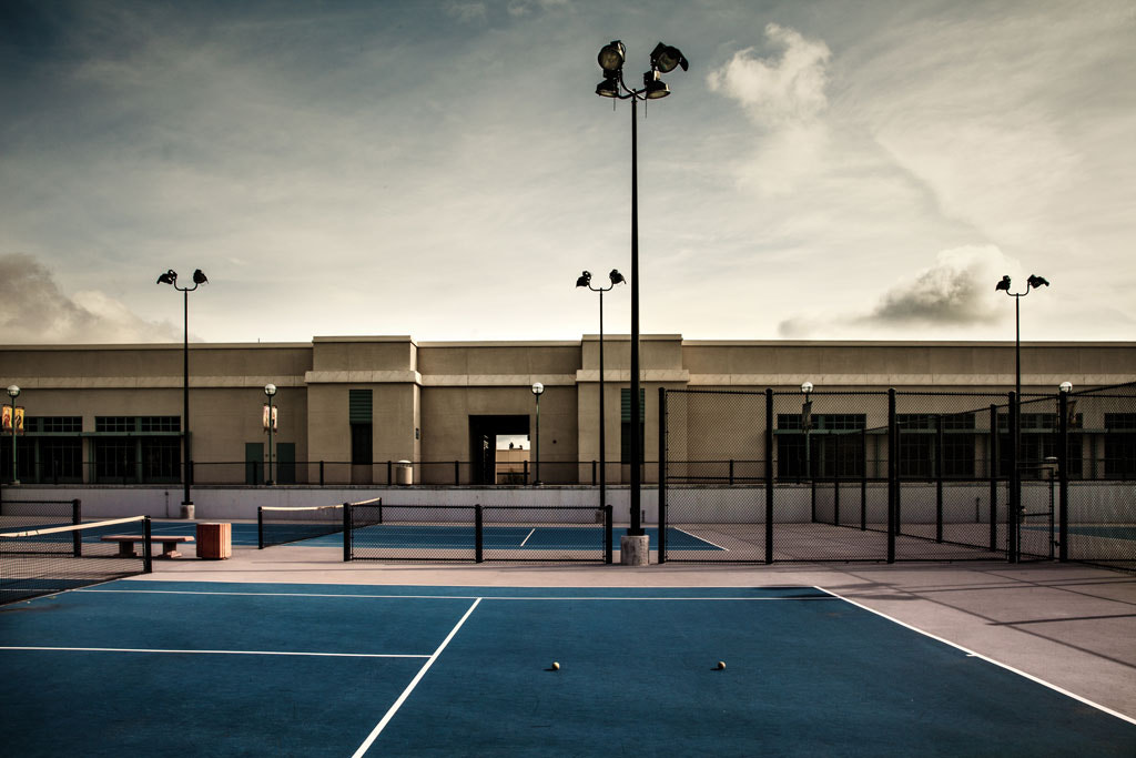 Photograph Tennis Courts by Jason Moskowitz on 500px
