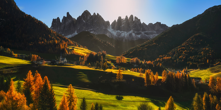 The Symbols of the Val di Funes... by Pawel Kucharski on 500px.com