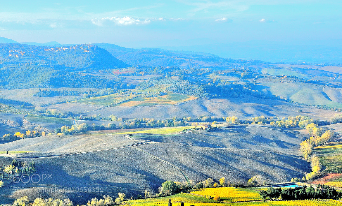Photograph Autumn Time: landscape from Montepulciano... by Renato Pantini on 500px