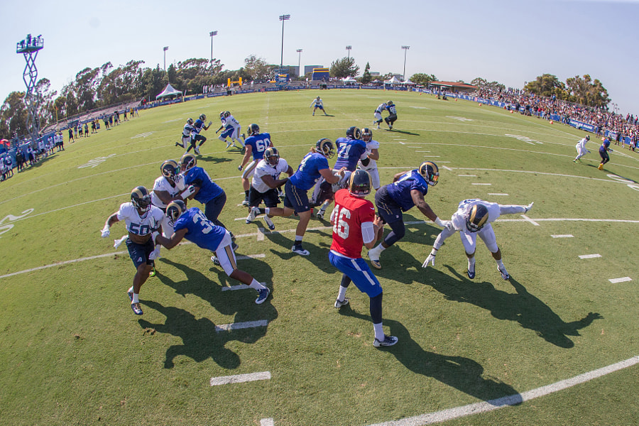 Rams Training Camp - Day 4 - August 2, 2016 by Jeff Lewis on 500px.com