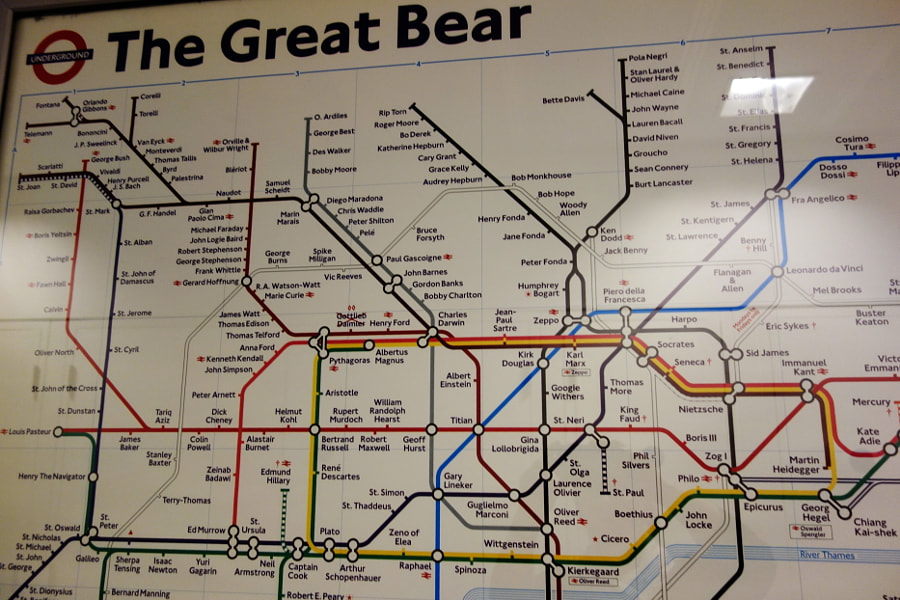 London Underground: Alternative  Map by Sandra on 500px.com