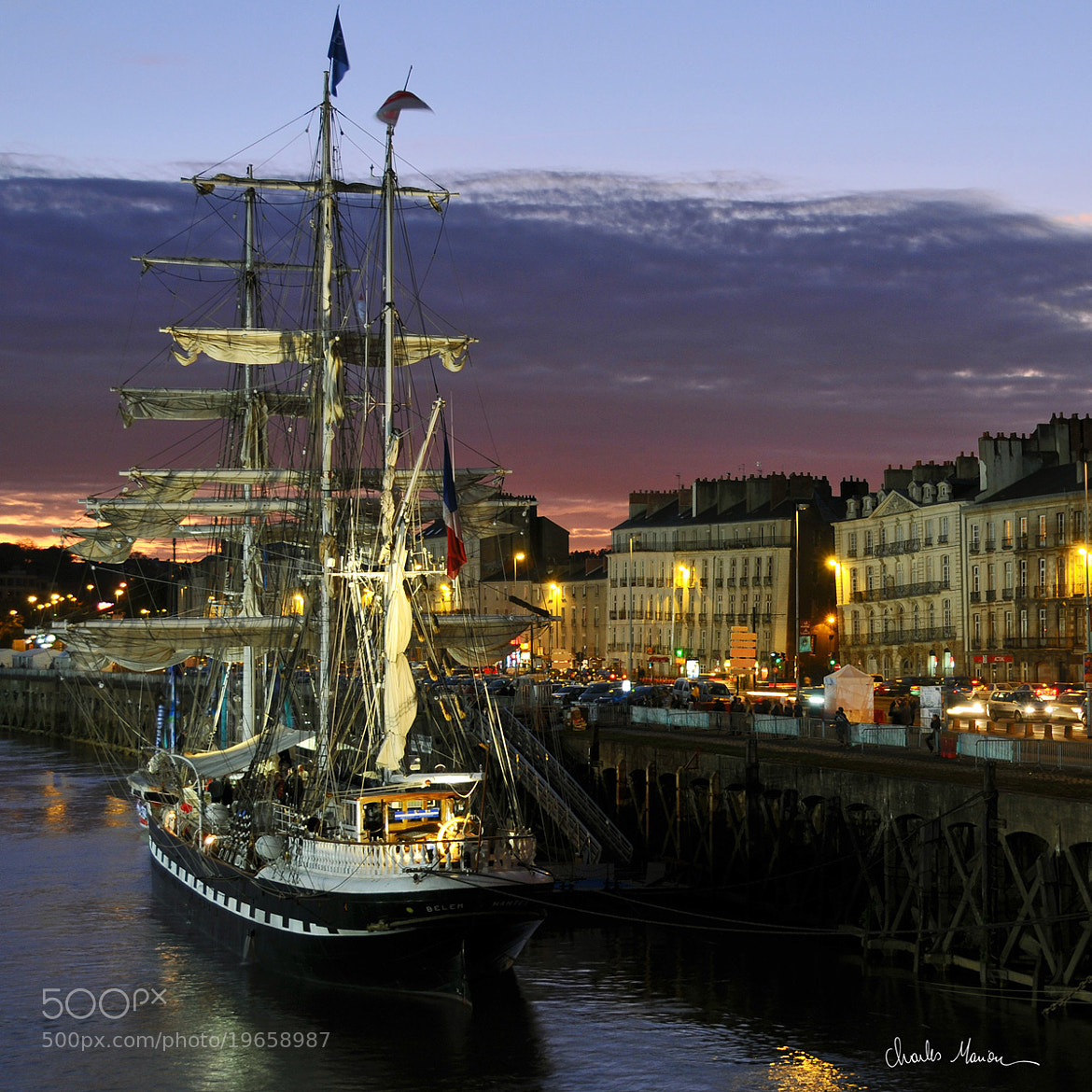 Photograph The Belem in Nantes by Charles Marion on 500px