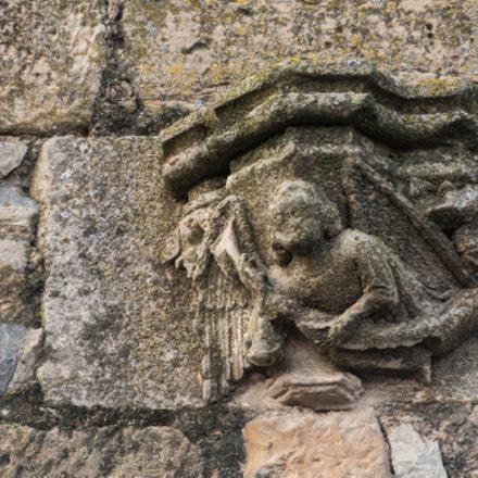 Capitell gòtic de l'antic Convent de Sant Agustí de Tàrrega