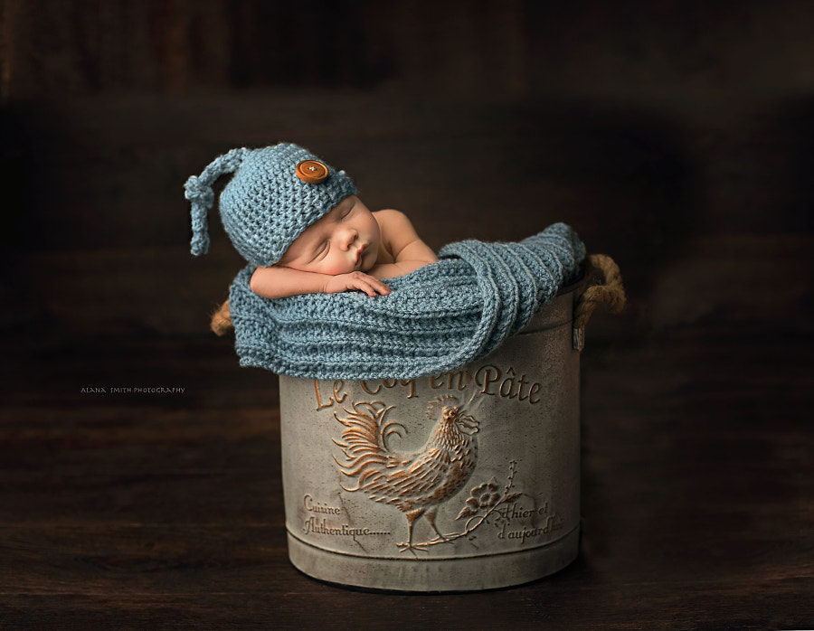 Newborn Baby by Alana Smith on 500px.com