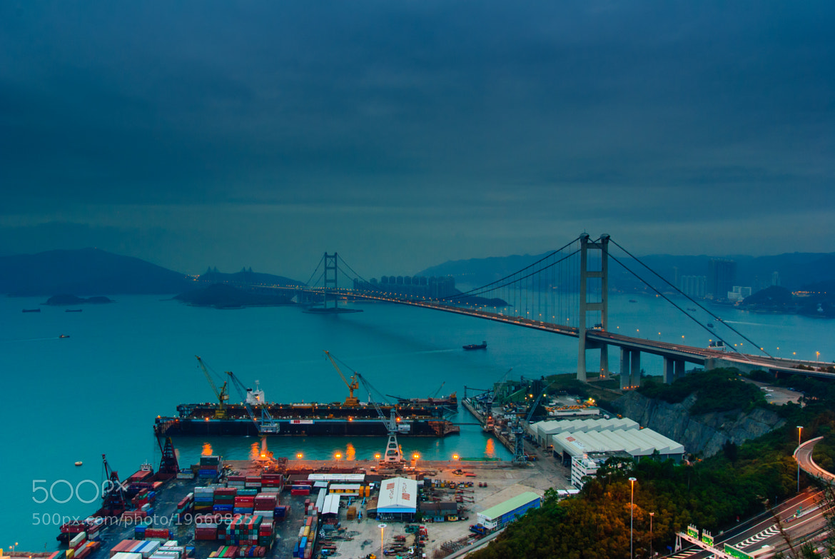Photograph Tsing Ma Bridge (Day Time) by Hei Yu on 500px