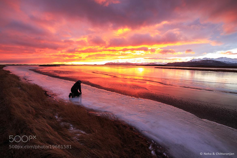 Photograph Sunset on Djúpivogur, Iceland by Neha & Chittaranjan Desai on 500px