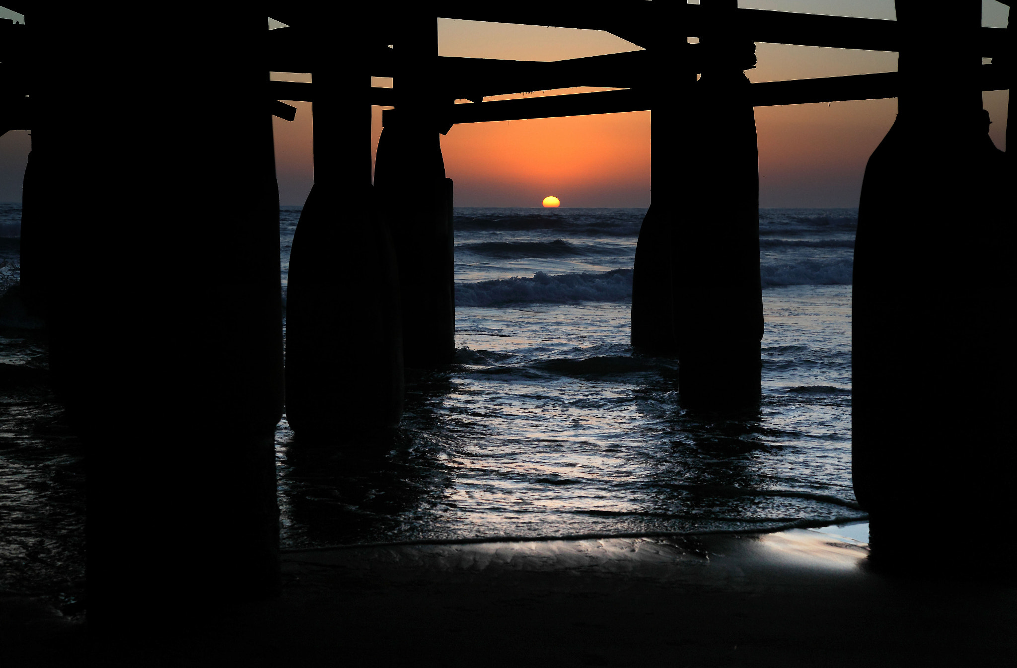 Photograph Through the Pier by Alissa Haygood on 500px