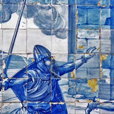 Azulejos in Lisboa, Canon POWERSHOT A650 IS