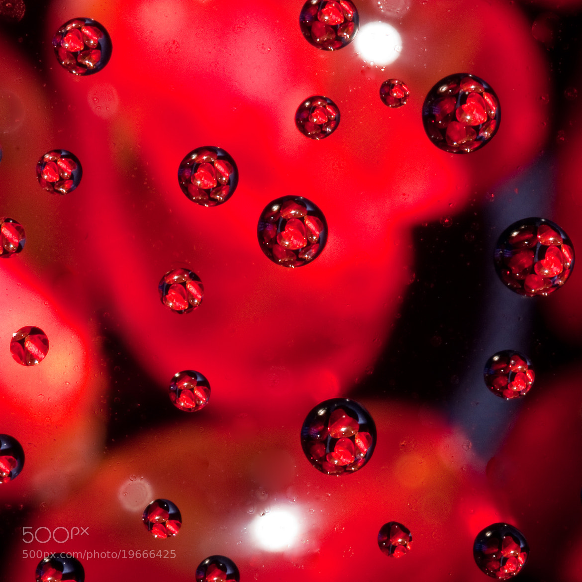 Photograph Heart Drops by Mae Davis~MDavis Photography on 500px