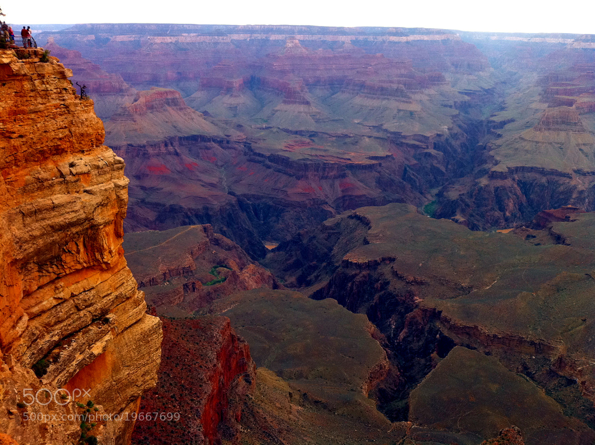 Photograph Man & The Grand Canyon (iPhone 4) by Michael FRANCHITTI on 500px