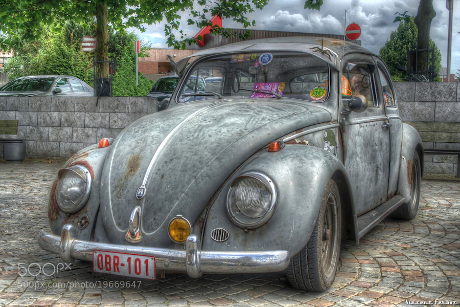 Photograph Beetle rusted by Vincent Ferooz on 500px