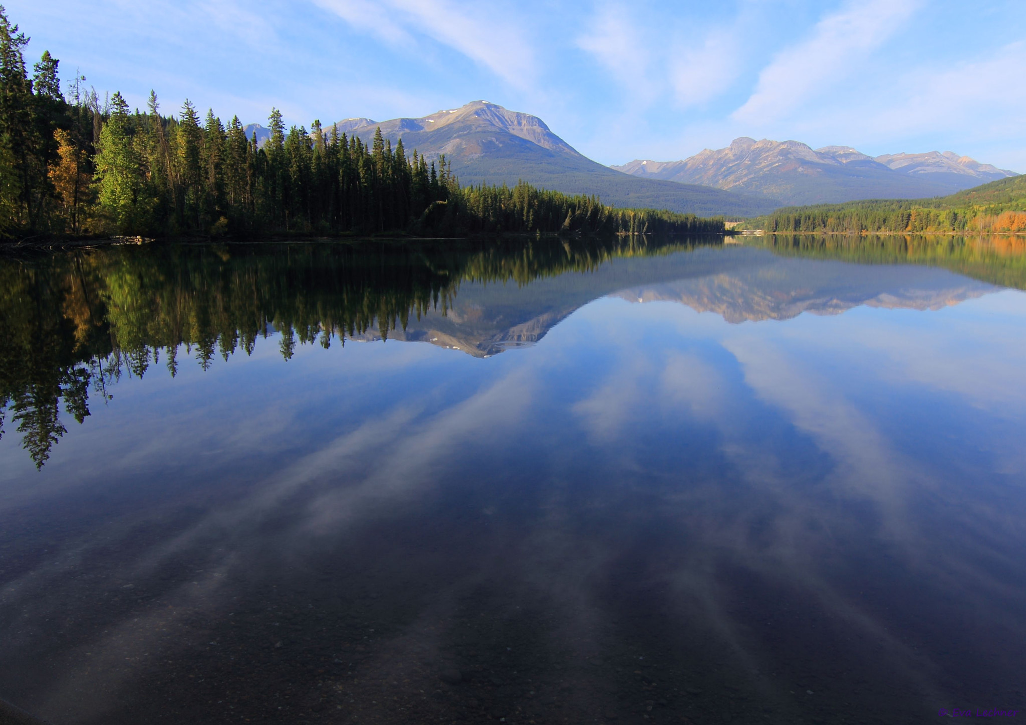 Photograph Yellowhead Lake by Eva Lechner on 500px