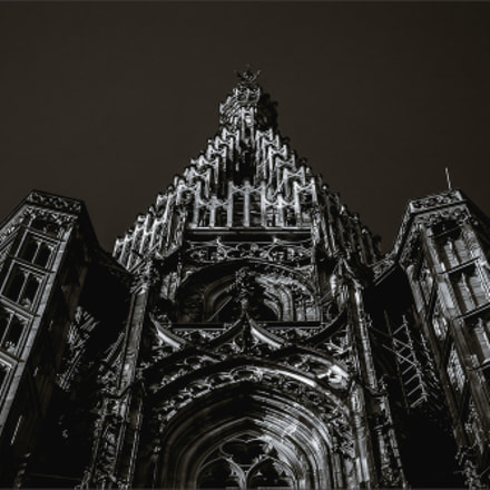 Tower of Strasbourg Cathedral, Sony SLT-A99, Tamron SP AF 28-75mm F2.8 XR Di LD Aspherical IF