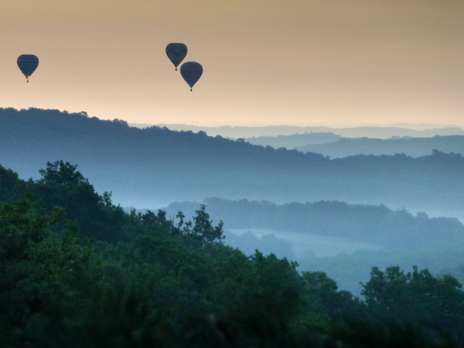 Photograph Drifting over the Dordogne by Steven House on 500px