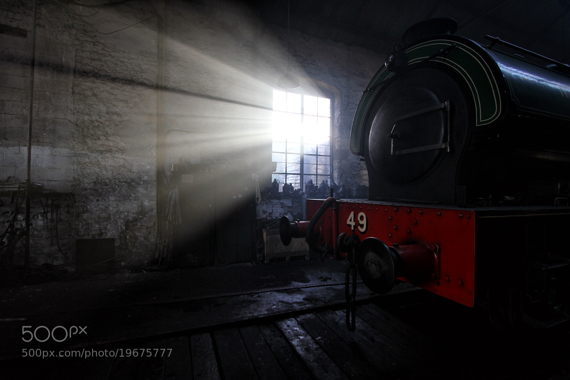 Photograph The Engine Shed by Robert Armstrong on 500px